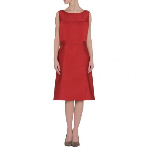 Prada Knielanges Kleid Rot