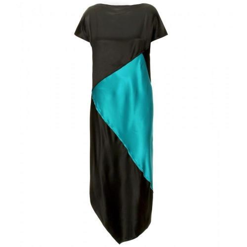 Proenza Schouler Seidenkleid Im Patchwork-Stil