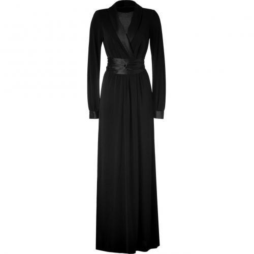 Rachel Zoe Black Tuxedo Estella Gown