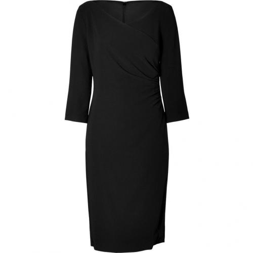 Ralph Lauren Black Black Stretch Diane Dress