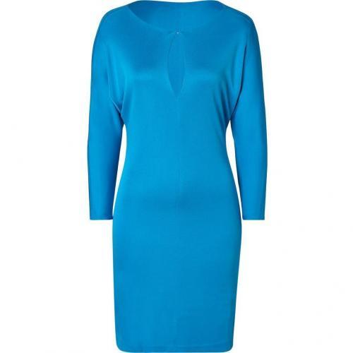 Ralph Lauren Black Caribbean Blue Trista Dress