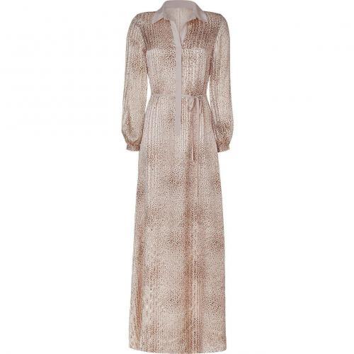 Raoul Vanilla Belted Maxi Dress