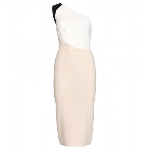 Roland Mouret One-Shoulder-Kleid Belmont