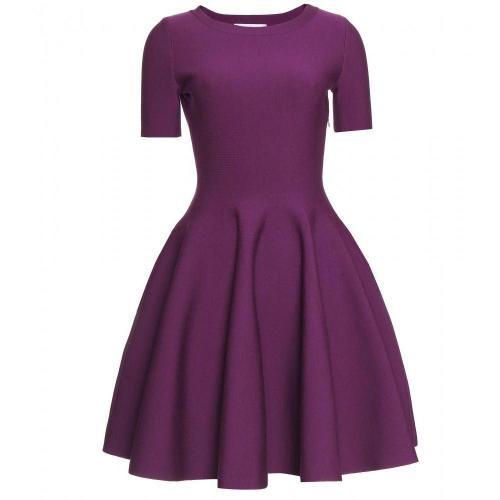 Saint Laurent Ausgestelltes Stretch-Kleid