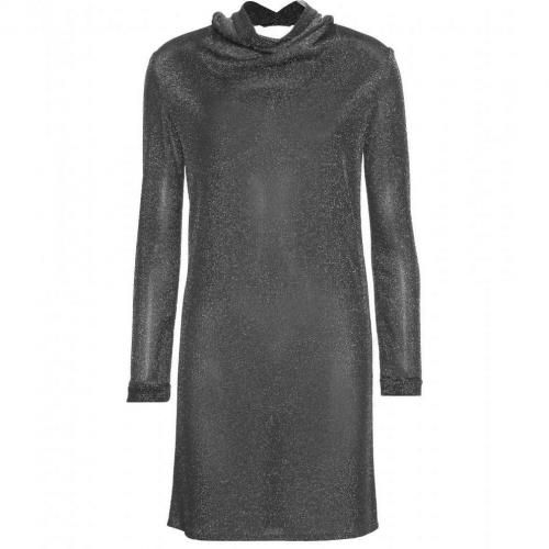 Saint Laurent Metallic-Kleid