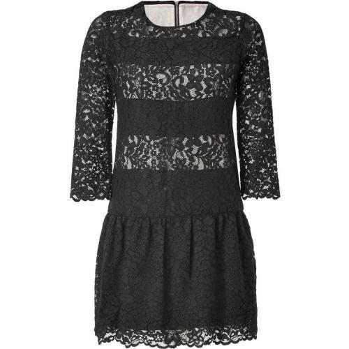 Sandro Black Lace Dress