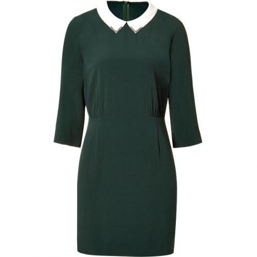 Sandro Bottlegreen Demure Dress