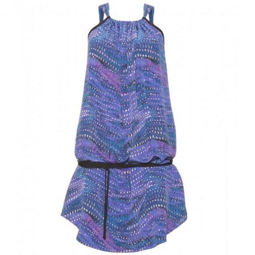 See by Chloé Print-Kleid Aus Seide