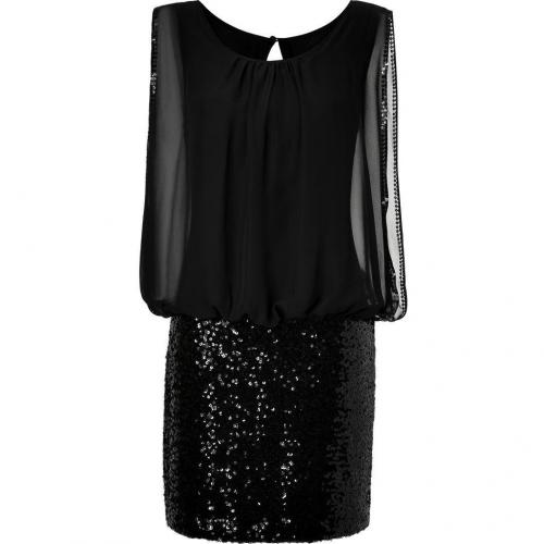 Steffen Schraut Black Sequined Black Jack Tunic Dress