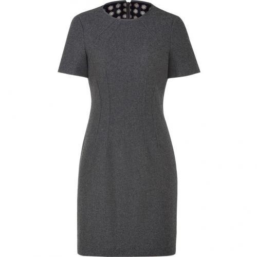 Steffen Schraut Grey Short Sleeve Flannel Dress
