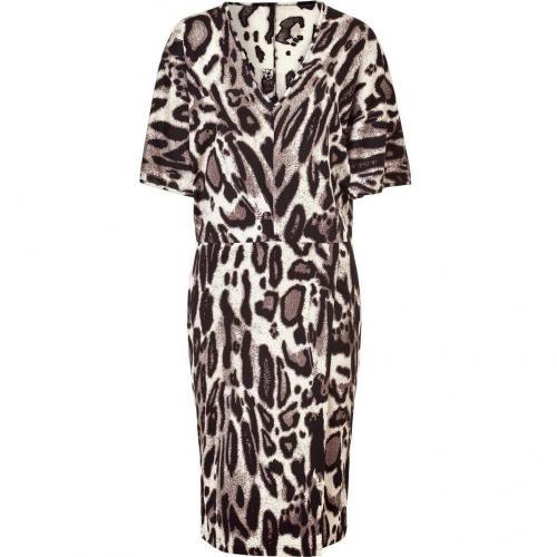 Steffen Schraut Wildlife Silk Miami V Dress