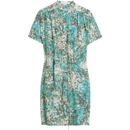 Amazon Camouflage Silk Dress