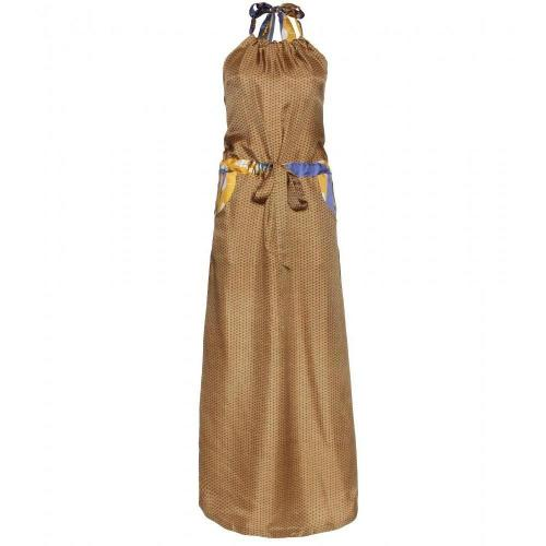 Suno Neckholder Kleid Mit Print