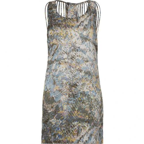 Surface to Air Multicolor Printed Tank Dress With Cut-Out Back