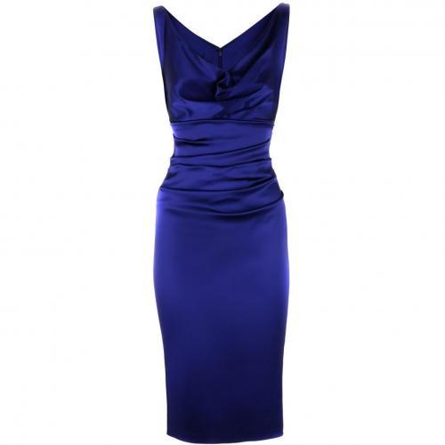 Talbot Runhof Cobalt Dress Voltaire