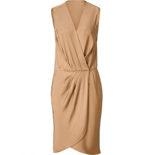 Tara Jarmon Hazelnut Wrap Dress
