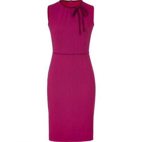 Valentino Begonville Velvet Bow Embellished Dress