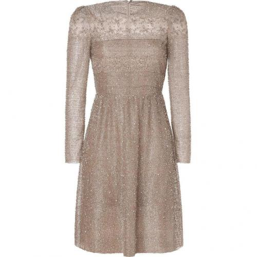 Valentino Opal All Over Sequined Dress