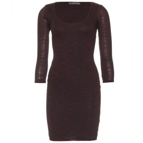 Velvet Russo Jerseykleid Brownred