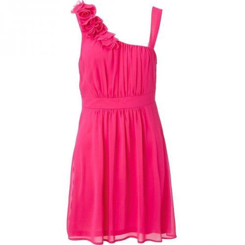 vera mont sommerkleid pink rmellos my designer kleid. Black Bedroom Furniture Sets. Home Design Ideas