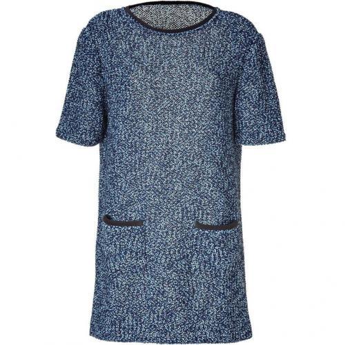 Veronique Leroy Cosmos/Anthracite Boucleé Dress