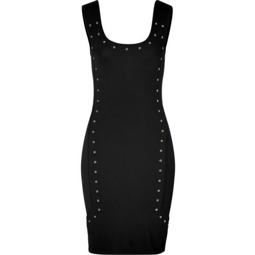 Versace Black Studded Dress