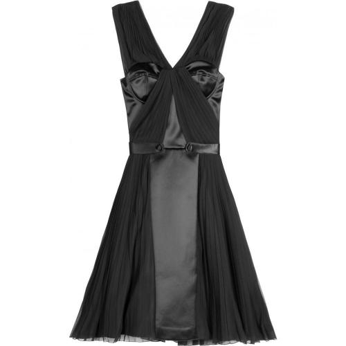Versus Satin Bustier Detail Dress