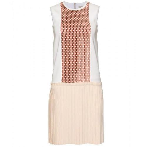 Victoria Beckham Kleid Mit Faltenrock